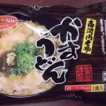 冷凍食品コーナーより、KASUYA謹製冷凍かすうどん。割引対象外商品となっておりますのでご了承ください。