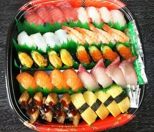 握り寿司盛合せ 4人前40貫入り